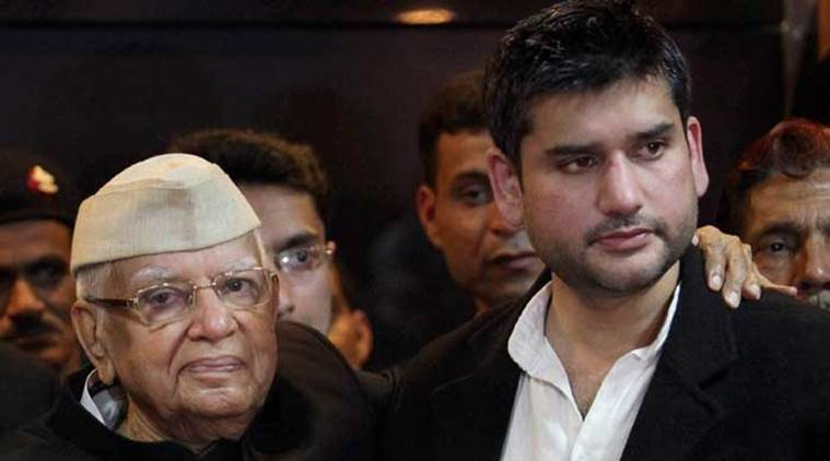 ND Tiwari, nd tiwari dies, ND Tiwari joins BJP, ND Tiwari BJP, Congress, bjp, uttarakhand elections, news, rohit shekhar, latest news, indian express news,