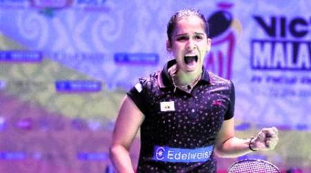 Saina Nehwal, Saina Nehwal win, Saina Nehwal vs Pornpawee Chochuwong, Pornpawee Chochuwong, Malaysian Masters Grand Prix, Saina vs Chochuwong, Malaysia Masters, Badminton news, Badminton India, India news, sports news