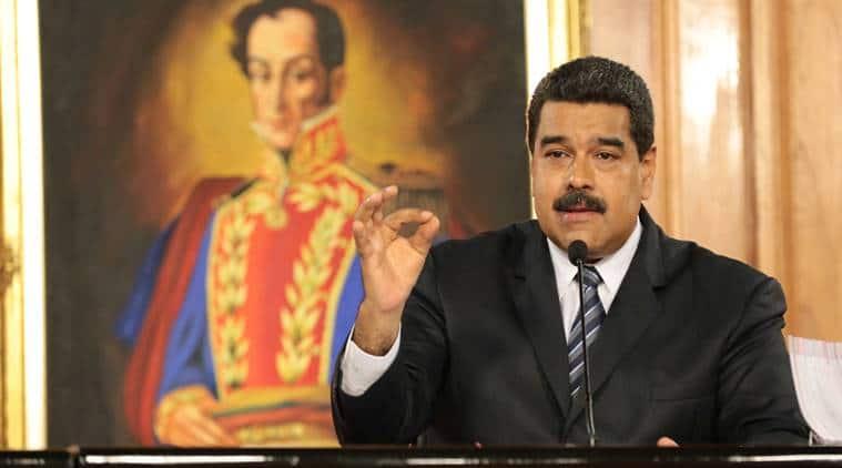 Venezuela crisis, Venezuela protests, Venezuela issue, Venezuela, Nicolas Maduro, Nicolas Maduro-Venezuela, Venezuela presidential election, hugo chavez, world news, indian express