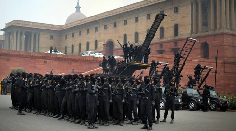 nsg cats republic parade indian commandos forces special india force commando army cat security national counter vehicle sherpa debut express