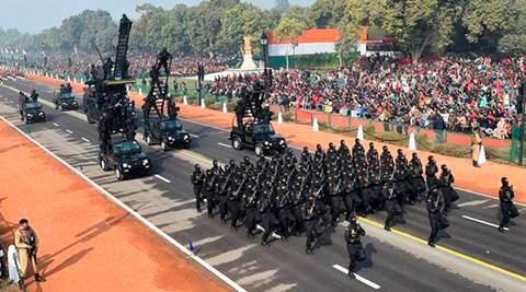 NSG commandos, Tejas fighter jet debut at 68th Republic Day parade