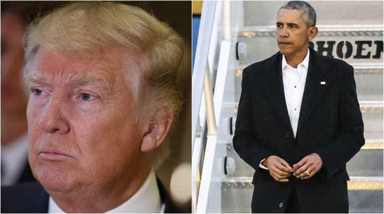 Barack Obama, Obama, President Obama, Donald Trump, Trump. US President-elect, Trump Obama, Trump change candidate, US elections, US news, world news, latest news, indian express