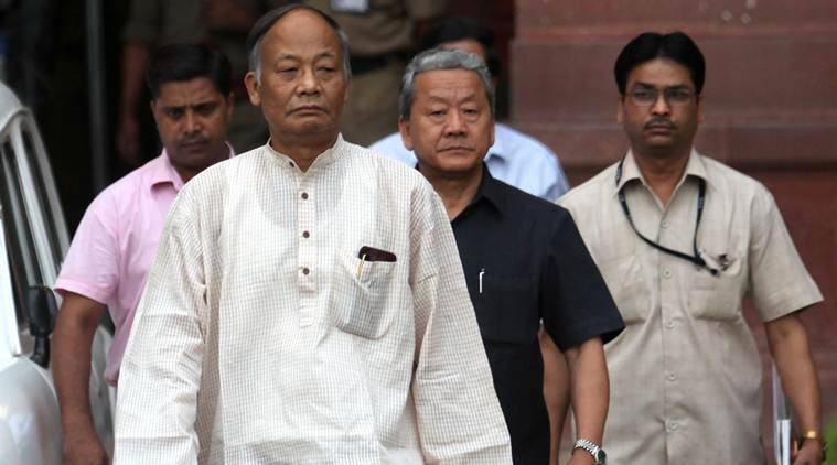 Okram Ibobi Singh, Manipur former chief minister, congress, congress defeat in manipur, bjp win, Manipur news, north east india news, indian express