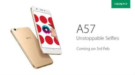 Oppo, Oppo A57 launch,Oppo A57 india launch,Oppo A57 specs,Oppo A57 features,Oppo A57 camera,Oppo A57 india launch date, smartphone, oppo f1s, technology, technology news