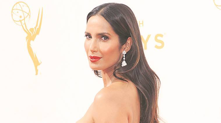padma lakshmi, lakme fashion week, tarun tahiliani, lakme fashion week padma lakshmi, fashion news, lifestyle news
