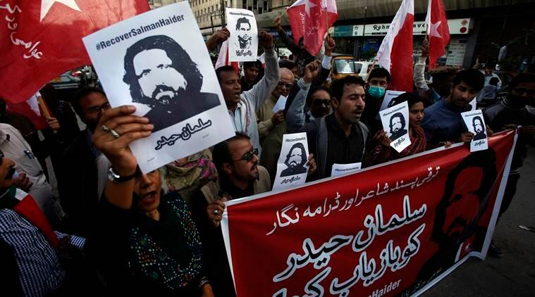 pakistan, pakistan missing activist, missing activist in pakistan,  Salman Haider,  Salman Haider pakistan,  Salman Haider missing, latest news, latest world news