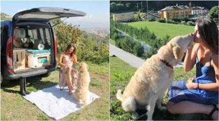 solo travel, travel with pet, solo woman traveller, solo road trip, woman travel with dog, woman quit job travel with dog, solo woman road trip with dog, solo travel guide, travel news, latest news, Indian express
