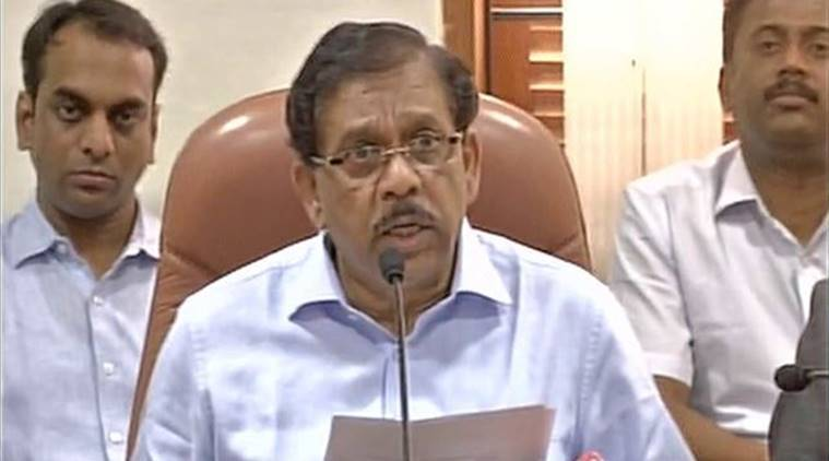 Karnataka Home Minister G Parameshwara, Jagadish Shettar, B S Yeddyurappa, Jagdish Shettar, Siddaramaiah-led Congress government, India news, National news, latest news, India news