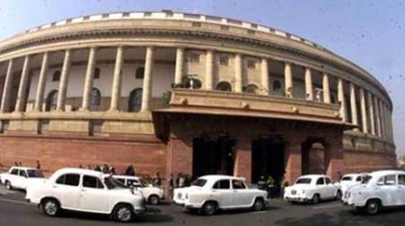 parliament, parliament fire, fire in parliament, budget, union budget, budget 2017, india news, indian express news