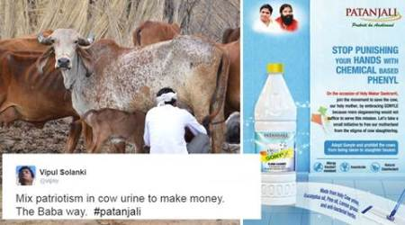 Baba Ramdev's ad for floor cleaner with 'holy cow urine' irks many as it aims to 'stop cow slaughter'