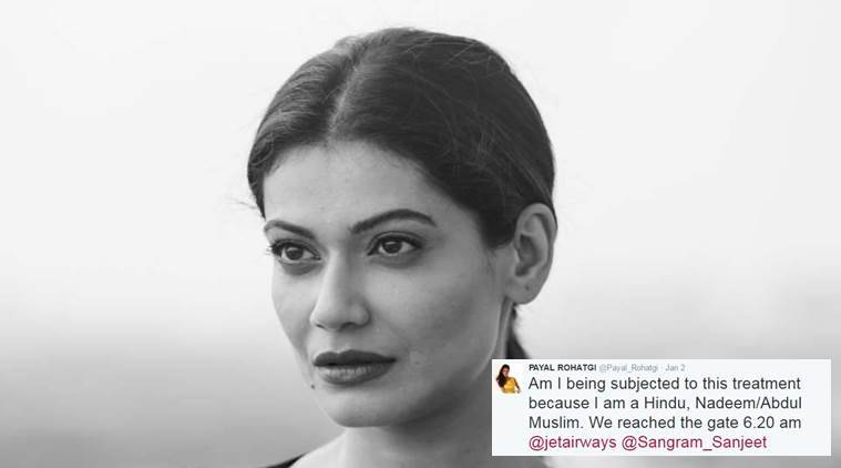 Payal Rohatgi's argument just doesn't hold (Source: Facebook)