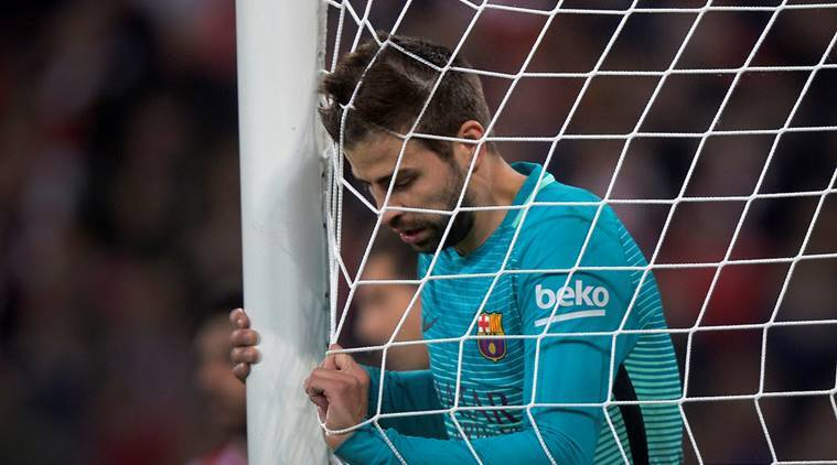 gerard pique, pique, barcelona, referees, la liga, spain, spain referees, football news, sports news