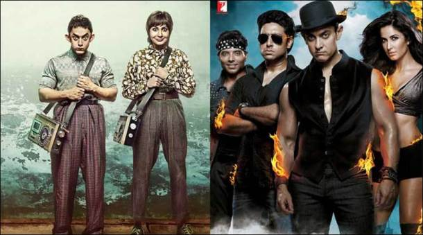 Dhoom, pk, dangal, aamir khan, dangal collections, dangal box office, dangal box office collection