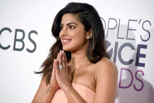 Priyanka Chopra, Priyanka Chopra People's Choice Award, Quantico, Quantico priyanka, Priyanka Chopra People's Choice Award win, Priyanka Chopra People's Choice Award videos, Priyanka Chopra awards