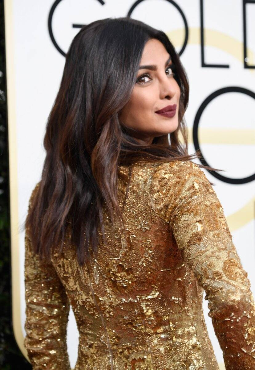 Priyanka Chopra, Golden Globes, Golden Globes priyanka, Golden Globes Priyanka Chopra, Golden Globes Priyanka Chopra dress