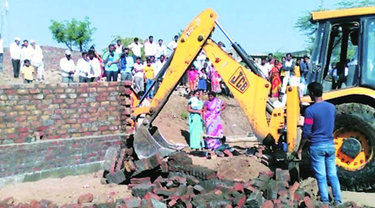 Pune under construction house razed, under construction house razed in Pune, Pune news, Latest news, India news, national news, India news, National news