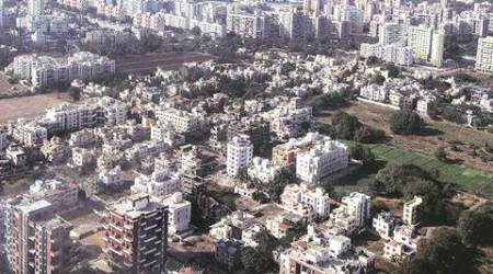 Pune skyline, Pune building densification, Pune FSI, four FSI, Pune high rise buildings, Pune development control, Pune news, India news, Indian Express
