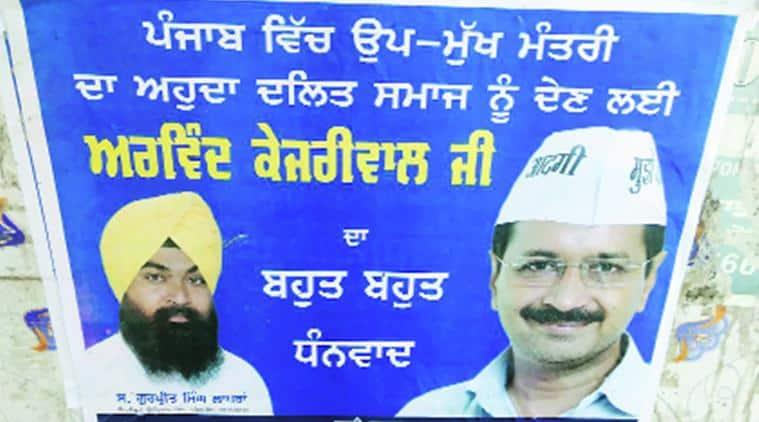 punjab, punjab elections, punjab AAP, punjab sikhs, punjab dalits, Arvind Kejriwal, Gurpreet Singh Lapran, Bant Singh, india news