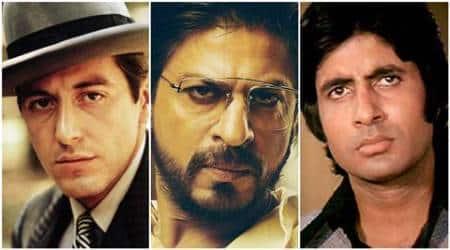 Shah Rukh Khan, Shah Rukh Khan actor, raees, raees movie, Shah Rukh Khan raees, raees Shah Rukh Khan, shahrukh khan, shahrukh khan raees, raees shahrukh khan, deewar, amitabh bachchan, amitabh bachchan deewar, deewar amitabh bachchan, amitabh bachchan news, gangsters movies, gangsters films, gangster films, godfather, godfather film, pulp fiction, Company, Once Upon a Time in Mumbai, Vaastav, Sarkar, entertainment news, indian express, indian express news