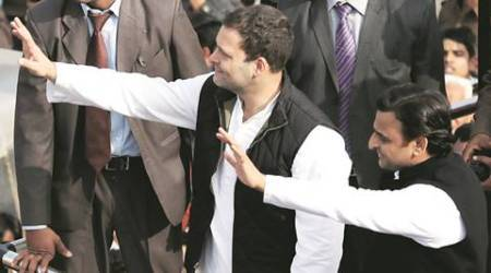 Rahul Gandhi, Akhilesh Yadav united show: 'We are two wheels of cycle'