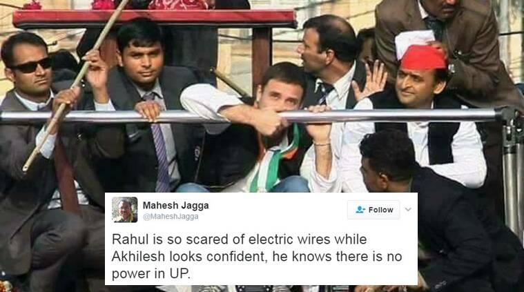 Rahul Gandhi and Akhilesh Yadav trolled for this picture