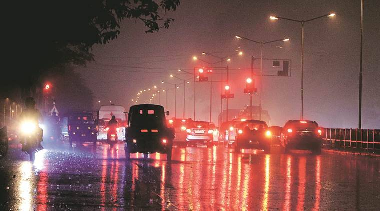 chandigarh rains, rains in tricity, chandigarh news, india news, indian express