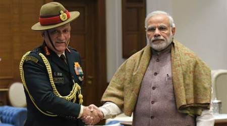 Army Chief Gen Bipin Rawat meets PM Modi