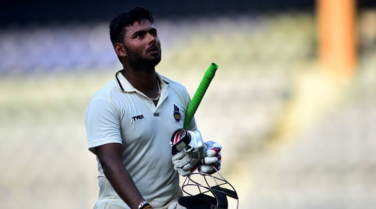 rishabh pant, rishabh pant cricketer, ranji trophy 2017
