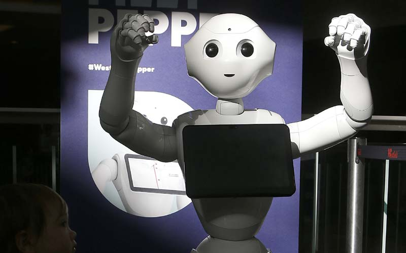 Humanoid robot Pepper is amusing, but is it practical