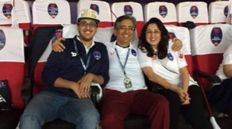 Delhi Dynamos director Rohan Sharma (left). (Image Source: Twitter)