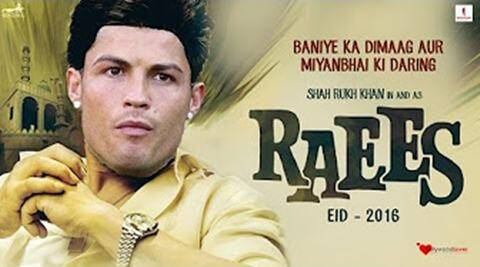 Shah rukh khan, Cristiano Ronaldo, Raees, Ronaldo Raees trailer, Lionel Messi, Messi raees trailer, ronaldo as raees, raees trailer, raees ronaldo trailer, funny video, viral video, latest news, indian express