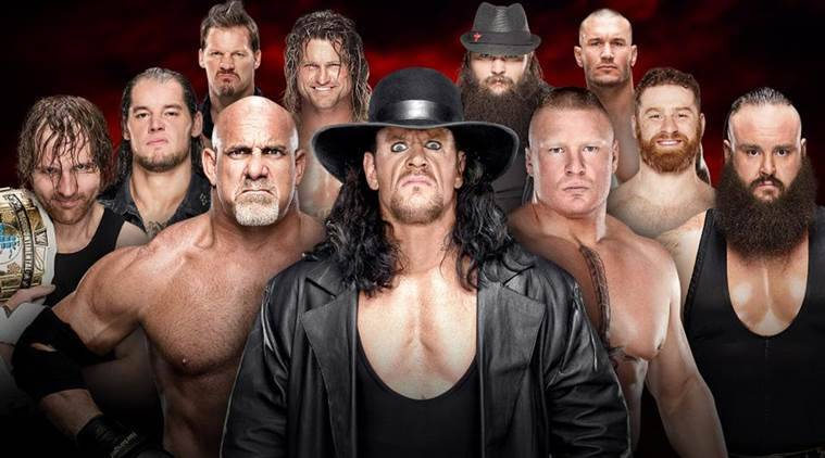 WWE Royal Rumble (2017) - Start Time and Match Card
