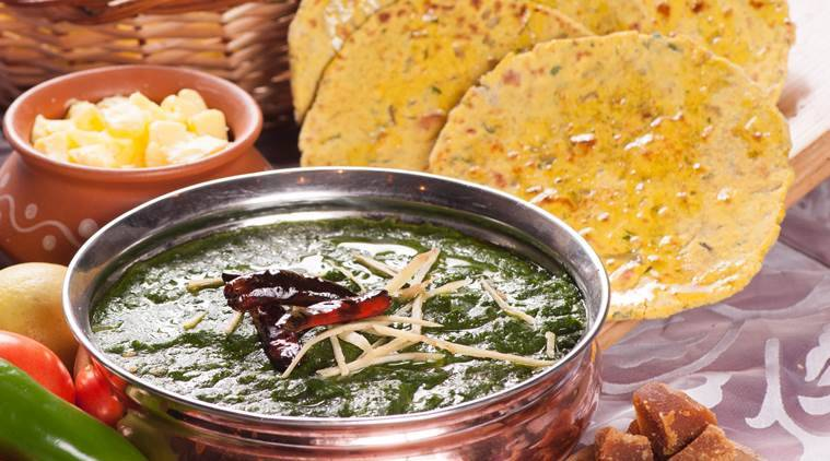 Try out some Sarson Ka Saag with Makki Ki Roti this winter.