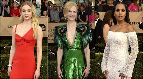 Nicole Kidman, Sophie Turner, Kerry Washington: Best and worst dressed at the SAG Awards2017