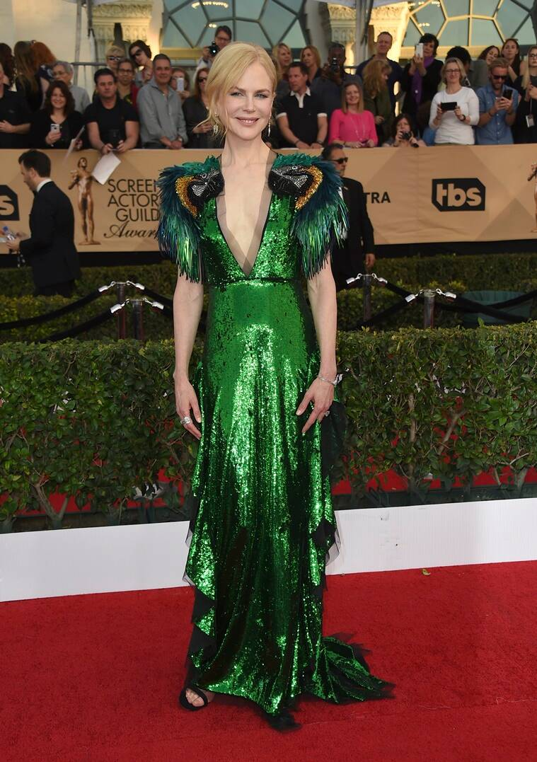 Nicole Kidman arrives at the 23rd annual Screen Actors Guild Awards at the Shrine Auditorium & Expo Hall on Sunday, Jan. 29, 2017, in Los Angeles. (Photo by Jordan Strauss/Invision/AP)