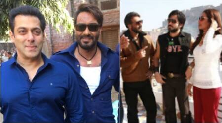 Baadshaho: When Salman Khan left Ajay Devgn surprised on the sets. See pics
