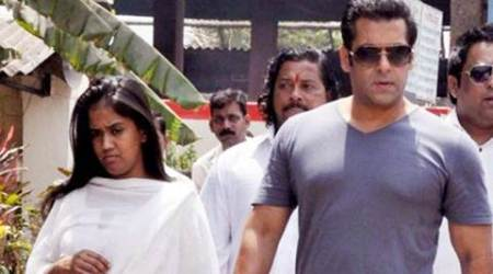 Salman Khan's baby sister Arpita Khan Sharma is celebrating his acquittal, see pic