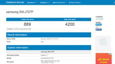 Samsung, Samsung Galaxy J7 2017, Samsung Galaxy J7 2017 leaks, Samsung Galaxy J7 2017 Geekbench listing, Samsung Galaxy J7 2017 features, Samsung Galaxy J7 2017 launch, Samsung Galaxy J7 2017 price, Samsung Galaxy J7 2017 specifications, Samsung Galaxy J7 2016 price, smartphones, technology, technology news