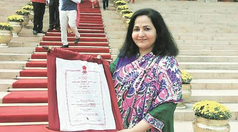 National Award for Child Welfare, sangita vardhan, sangita vardhan awarded, republic day, sangita vardhan interview, india news, indian express news