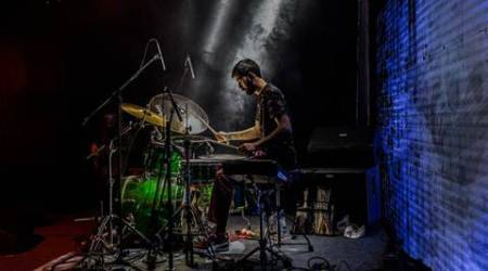 Sarathy Korwar, Sarathy Korwar album, Sarathy Korwar debut album, infinity leave to remain, indian electronic jazz musician, art and music, sunday eye, eye 2017, indian express
