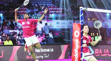 Satwik Rankireddy, PBL mixed doubles, PBL, Indian badminton players, badminton players, badminton, indian express