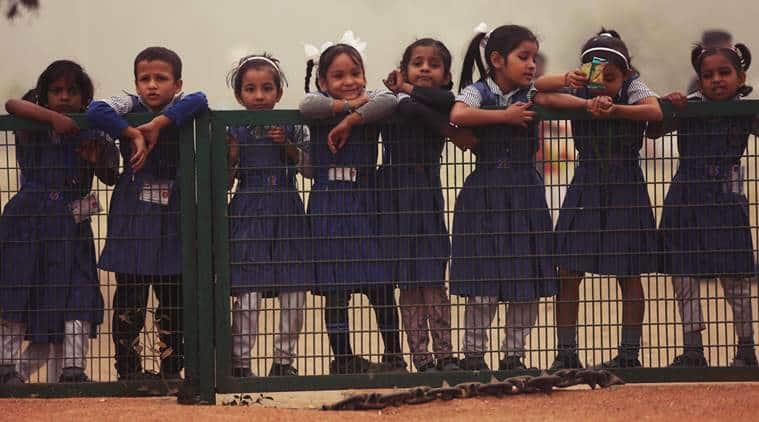 chandigarh schools, chandigarh students, chandigarh wall of kindness, wall of kindness, Yuvsatta, school education, school children, wall of kindness campaign, education news, chandigarh news, Indian express news
