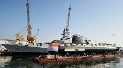 Second Scorpene class submarine INS Khanderi launched today; see pictures