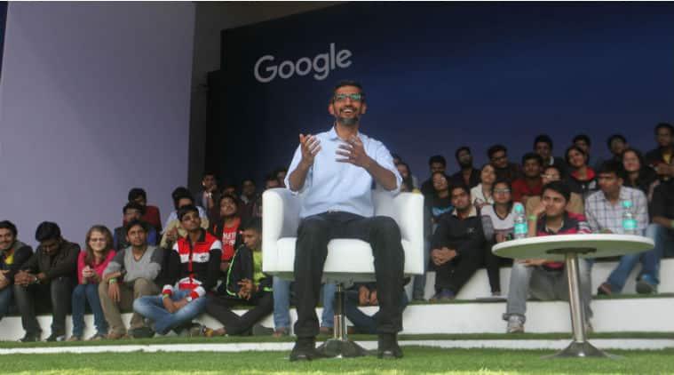 Google, Sundar Pichai, Sundar Pichai IIT K, Google CEO Sundar Pichai, Sundar Pichai IIT Kharagpur quotes, Pichai IIT hostel, Pichai visits IIT, IIT Kharagpur, Google CEO, Google CEO Pichai college, Pichai event at IIT Kharagpur