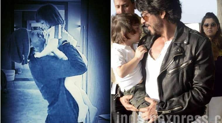 ShaH Rukh Khan, AbRam, SRK AbRam