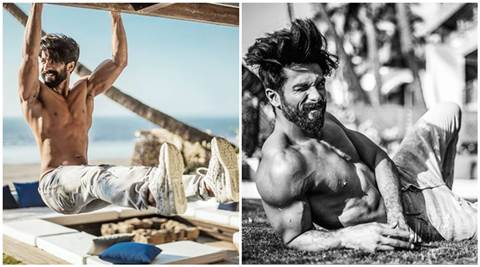 indianexpress.com - Shahid Kapoor trained by shooter Ronak Pandit for Rangoon