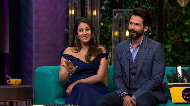 Image result for shahid kapoor mira koffee