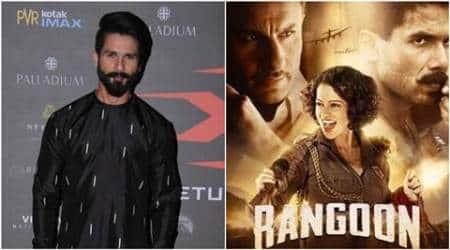 Shahid Kapoor, kangana ranaut, Rangoon, Rangoon film, Rangoon cast, Rangoon Kangana shahid, Kangana shahid issues