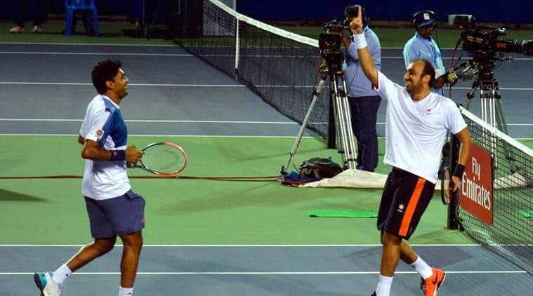 chennai open, chennai open 2017, divij sharan, purav raja, chennai open finals, chennai open doubles, tennis india. tennis news, sports news, indian express
