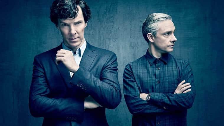 Sherlock, Benedcit Cumberbatch, Martin Freeman